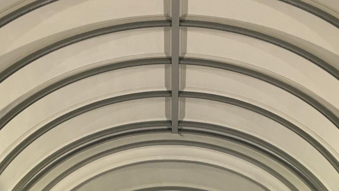Boog plafond symmetrie