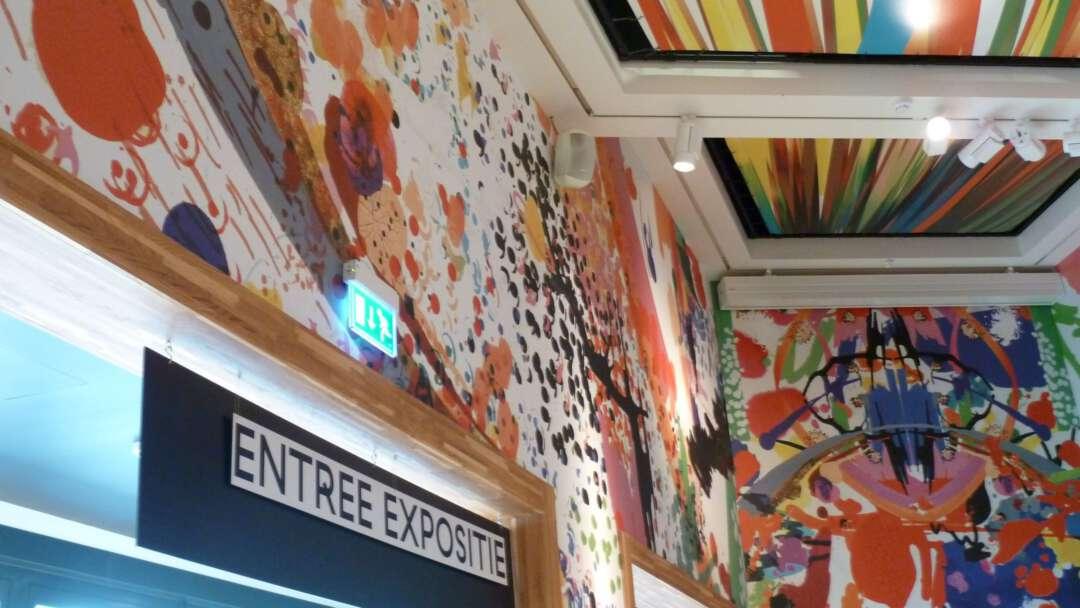 Entree expositie museum kade