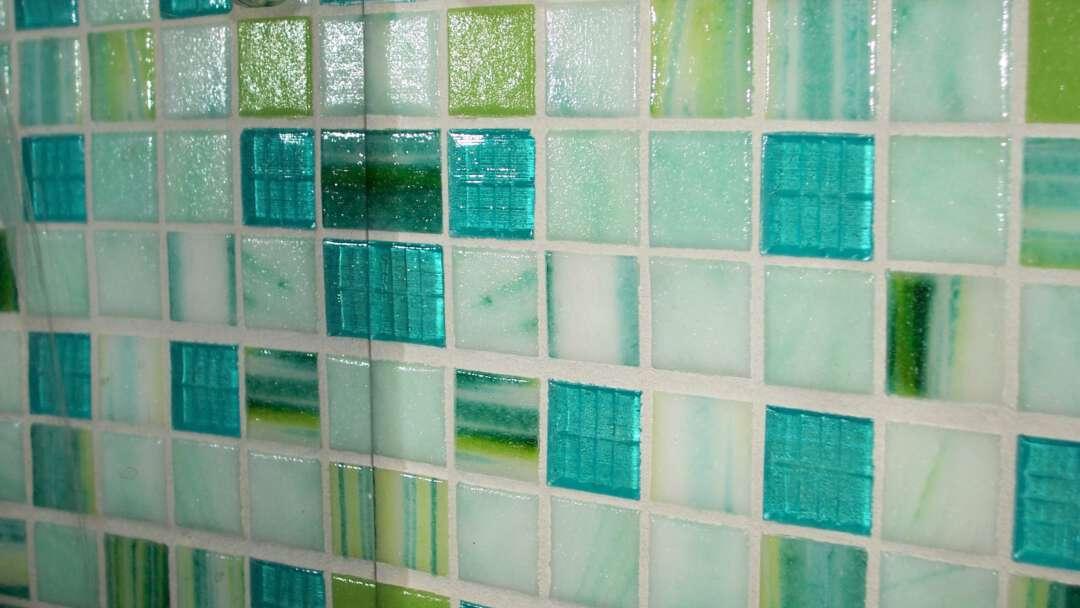 mintgroen-glasmozaïek-spiegel