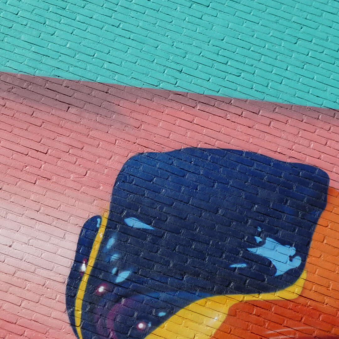 Mural art verf