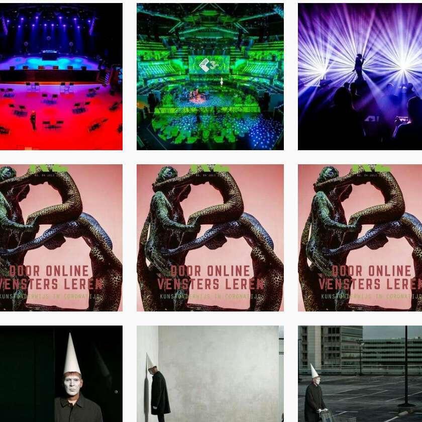 Overzicht instagram kunstzone 3